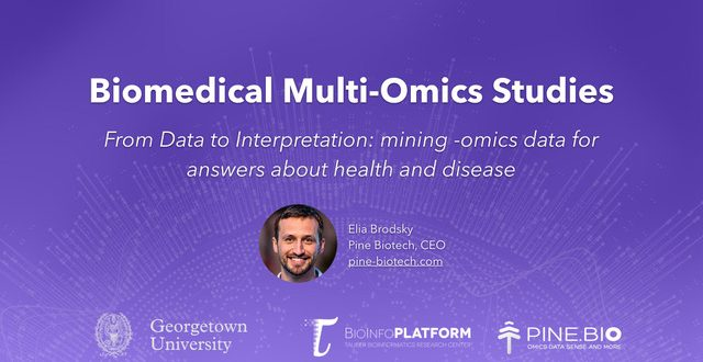 georgetown systems medicine multi omics data workshop